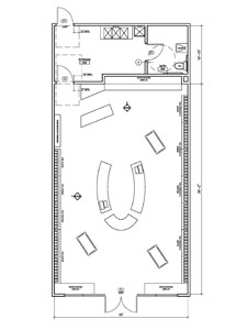 Clothing Stores Clothing Store Floor Plan